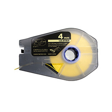 (3pcs/box) 4mm I.D STRIP (yellow)