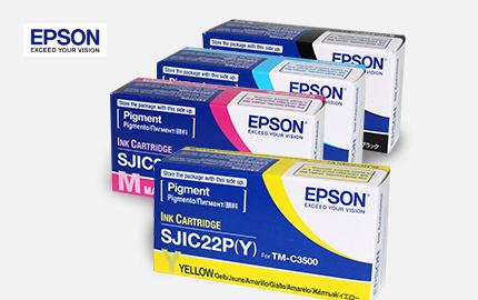EPSON TM-C3500 전용 소모품 옵션